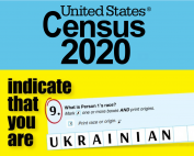 Ukrainian Census 2020 - Your response matters.