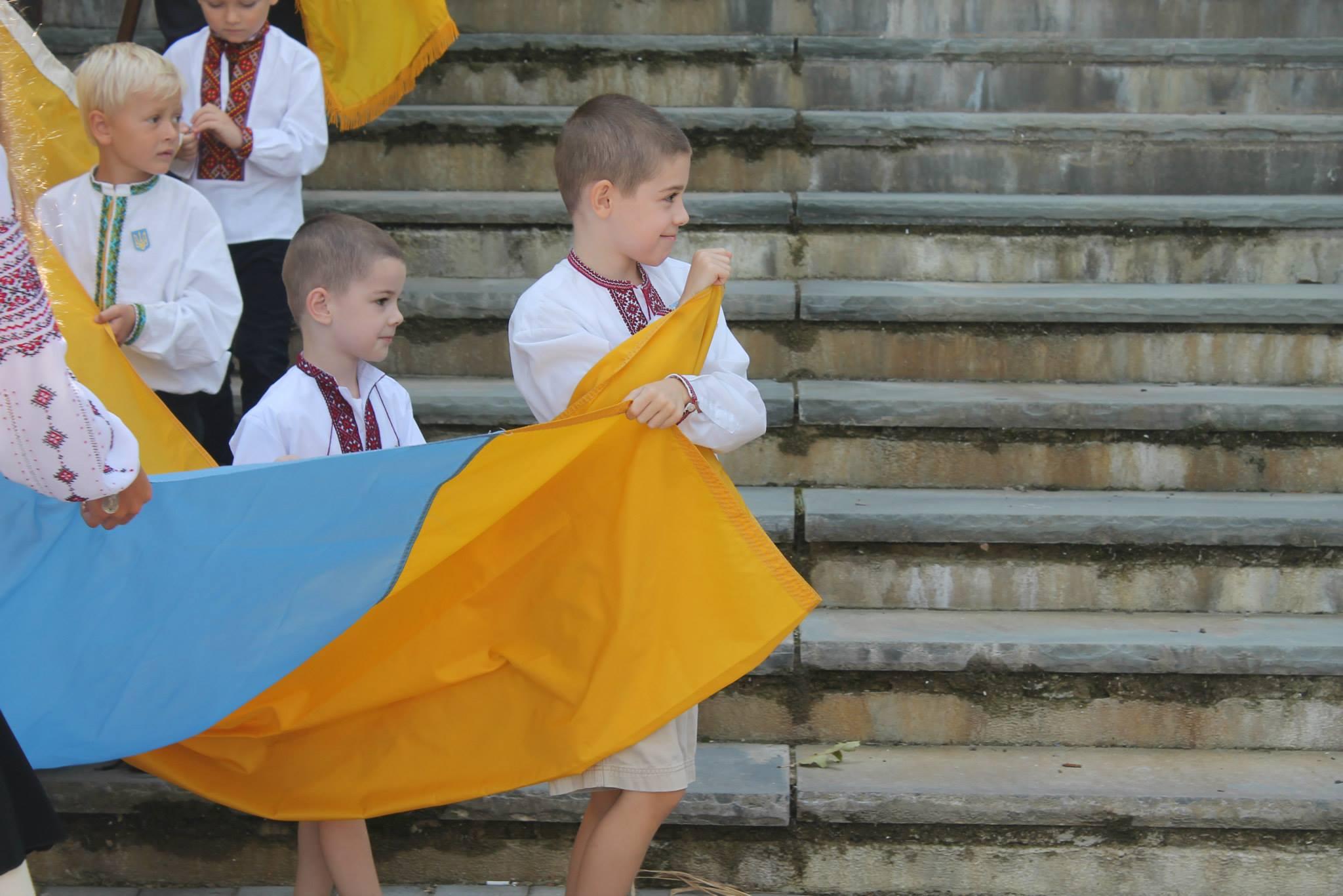 2019 Ukrainian Independence Day flagraising 2 Вшанування Української незалежності
